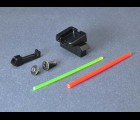AIP Aluminum Sight Set (Fiber Optic) for Marui G17