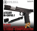 Nine Ball Custom Lower Frame R 5.1 Edge+Compensator for TM Hi-CAPA 5.1