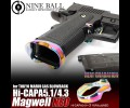 Nine Ball Hi-CAPA 5.1/4.3 Magwell NEO HEAT GRADATION