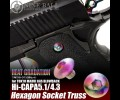 Nine Ball Hi-CAPA 5.1/4.3 Hexagon Socket Truss HEAT GRADATION
