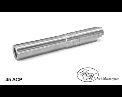 Airsoft Masterpiece .45 ACP STEEL Fix Outer Barrel for Hi-CAPA 4.3
