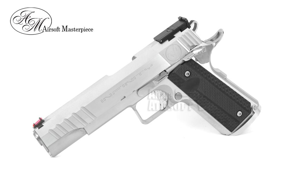 Airsoft Masterpiece S Style 1911 Round Trigger Guard Aluminum Frame