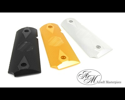 Airsoft Masterpiece 1911 Aluminum Grip Plates (S Style Ver.2)