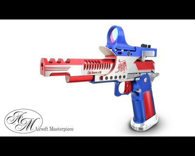 Alpha Airsoft Custom LimCat SteelCat Red/Blue Ver. Open Race Gun