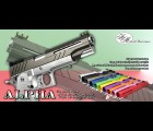"Airsoft Masterpiece Custom ""ALPHA"" Standard Slide for Hi-CAPA/1911"