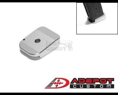 ADepot Aluminum Back Insert Magazine Base for TM Hi-CAPA